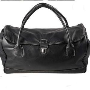 Victoria's Secret Black Travel Duffle Bag
